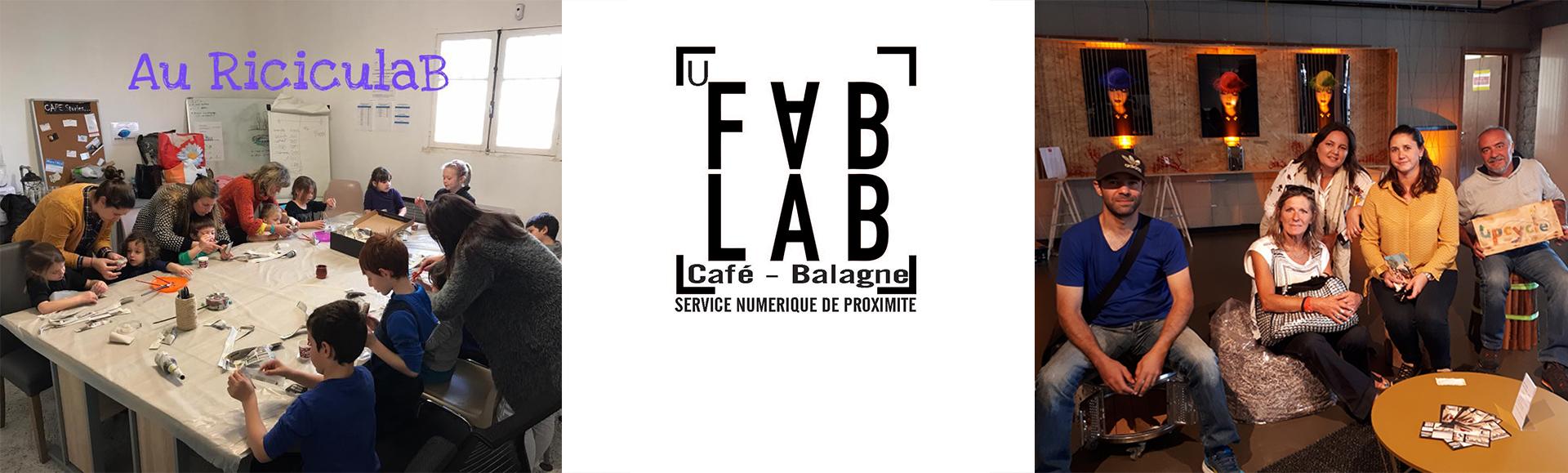 Un Fab-Lab Café et de nombreuses animations pour tous